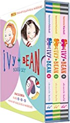 New York Times best-selling series of books for children - Ivy + Bean              Ivy and Bean, two friends who never meant to like each other: This boxed set, Ivy and Bean Boxed Set 2 (Books 4-6) continues the story of these...