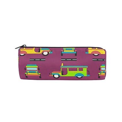 Malpleda Cars - Estuche para bolígrafos redondos (fondo ...