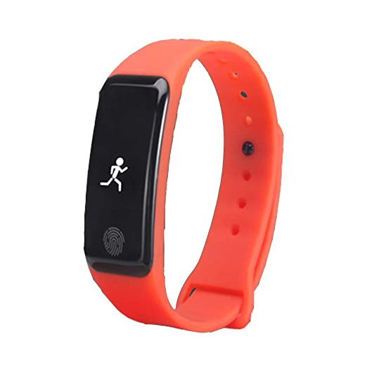 Fitness Trackers Reloj podómetro pulsera inteligente, contador de pasos, monitor de sueño, distancia veryfitPro Walking y aplicación de running para iPhone ...