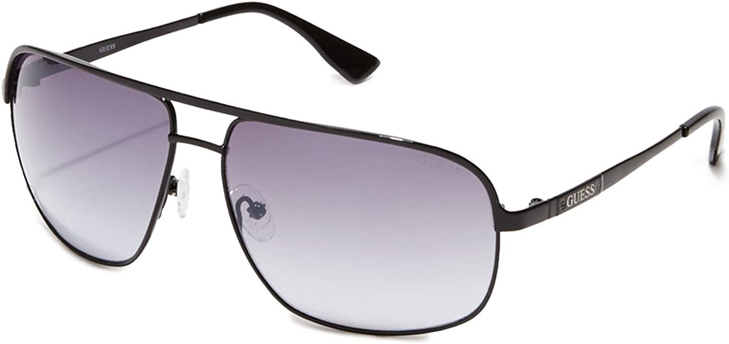 GUESS Hombre double-bridge Navigator – Gafas de sol