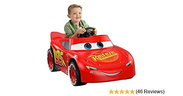 Amazon.com  Power Wheels Disney Pixar Cars 3 Lightning McQueen  Toys   Games 3b6c21055