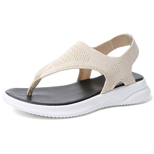 Hulky Femmes PlatesChaussures Épaisses ShoesChaussons Sandales uJTlK13Fc