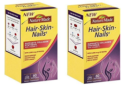 Nature-Made-Hair-Skin-Nails-with-Biotin-Softgel-2500-mcg-60-Count