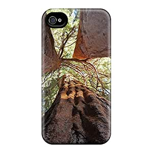 Awesome Case Cover/iphone 4/4s Defender Case Cover(split Sequoia A Giant Split In 3)