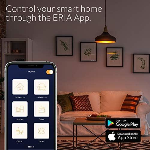 AduroSmart ERIA Colors and White Shades A19 60W Equivalent LED Smart Bulb Starter Kit