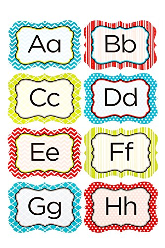 (Renewing Minds Isabella Customizable Word Wall Bulletin Board Set, Multi-Colored, Set of 32 Pieces)