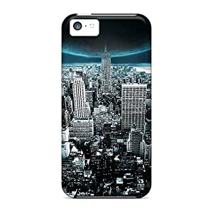 New Arrival Covers Cases With Nice Design For Iphone 5c- Moon Overwatch City
