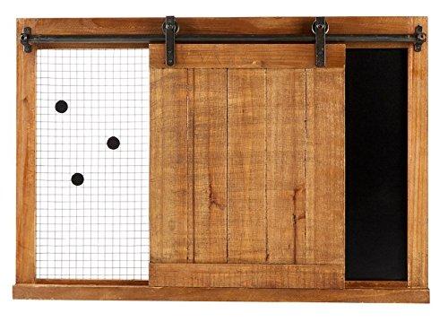 Barn Door Memo & Chalkboard Farmhouse Blackboard Menu Board by Generic