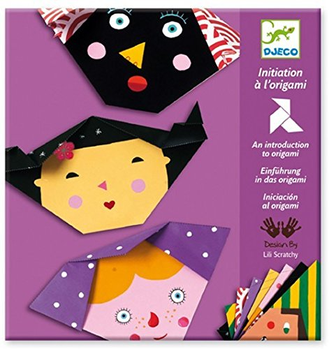 Faces Origami (Djeco / Introduction to Origami, Faces)
