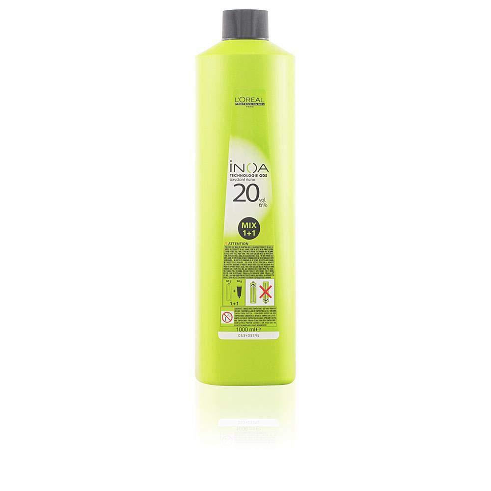LOréal Professionnel Inoa Technologie Ods Oxydant Riche 20 Vol Tinte - 1000 ml