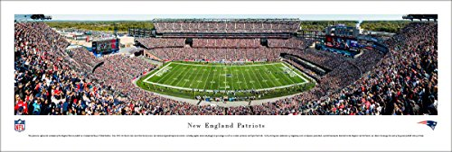 New England Patriots - Unframed 40 x 13.5 Poster by Blakeway Panoramas