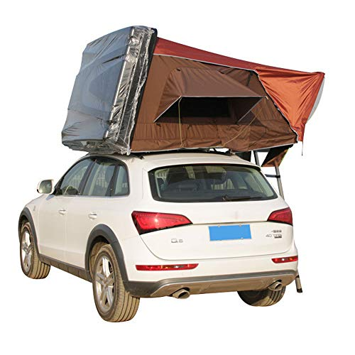 CARWORD Car Roof Tent-Roof Top Up Camping Outdoor for Cars Trucks SUVs Camping Travel Mobile Accommodating 2-3 People