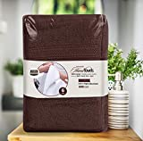 Utopia Towels Premium Brown Hand Towels