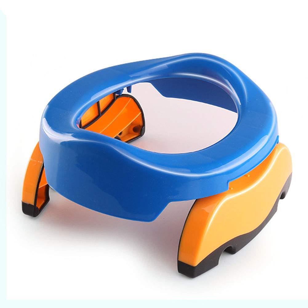 Tabouret Green Taille Unique Assistant de Toilette de Voyage Pliable pour Fille//gar/çon antid/érapant /Pliable Lionina Enfants Formation Potty Seat/ Portable b/éb/é