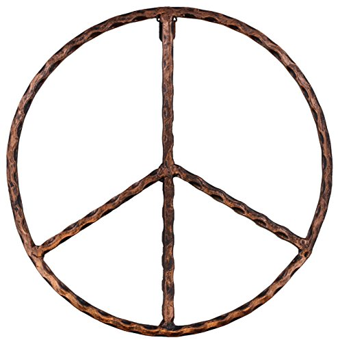 Pictures Peace Symbols - Old River Outdoors Metal Peace Sign Wall Decor Art - 12