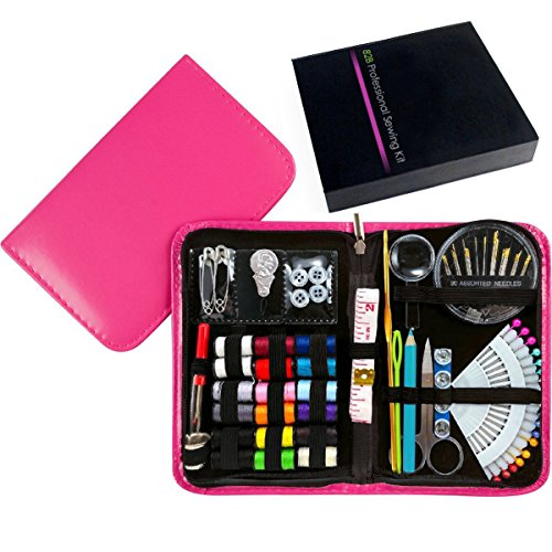 New Design Professional Sewing Supplies Kit With Leather Cas