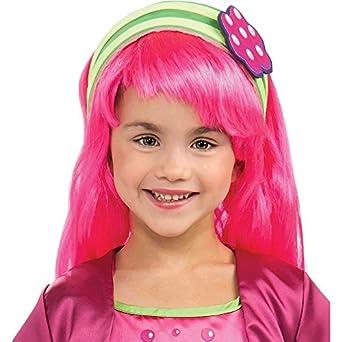 Amazon.com: Raspberry Tart Wig Costume Accessory: Clothing