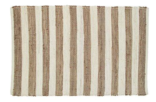 Olivia's Heartland Au Natural Stripe Rectangle Rug