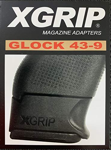 XGGL43-9 Crimson Trace Corporation Laserguard, Fits Sig Sauer P320 Full Size, Front Activated, Red Laser, Black Finish ()