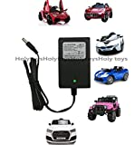 hello kitty childrens car - FLH 12V Kids Power Wheels Car Universal Charger Hello Kitty SUV Mercedes-Benz Audi Range Rove BMW I8 Children's Electric Ride-On Toys Battery Supply by Power Adaptor with Charging Indicator Light