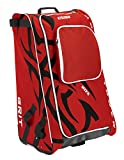 Grit Inc HTFX Hockey Tower 36'' Wheeled Equipment Bag Red HTFX036-CH (Chicago)