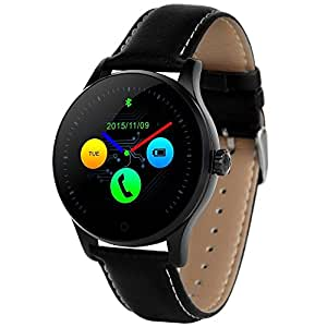 new-silk carretera k88h Ronda de Bluetooth inteligente reloj ...