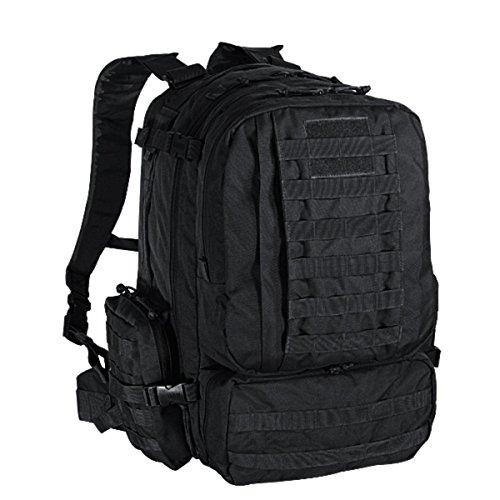 Voodoo Tactical Tobago Cargo Backpack / Pack in Black #15-15-7866 Black (Voodoo Pack)