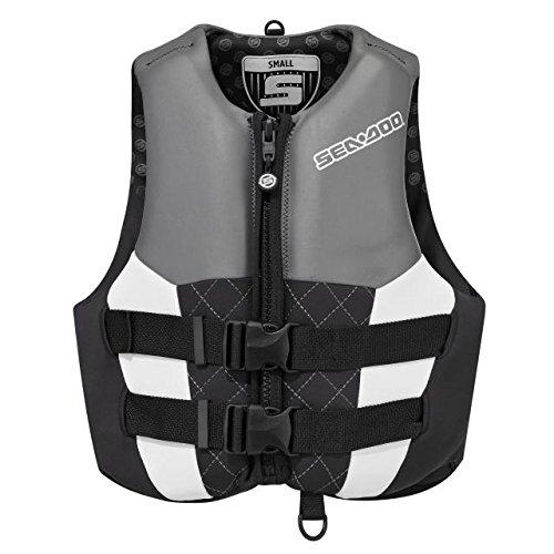 BRP sea-doo Ladies ' ecoprene AirflowライフジャケットベストPFDブラックSmall   B01925O4VE