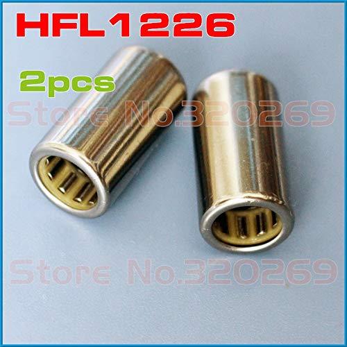 Ochoos 2pcs Single Direction Nadellager HFL1226 12x18x26mm OR HF1216 12x18x16mm one Way Needle Bearing Clutch Shaft FCB-12 - (Diameter: HF1216 12x18x16)