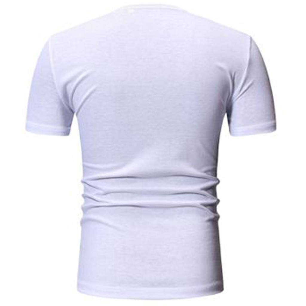 4Clovers Unisex Stylish 3D Printed Graphic Short Sleeve T-Shirts for Women Men