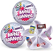 5 Surprise Mini Brands Mystery Capsule Real Miniature Brands Collectible Toy
