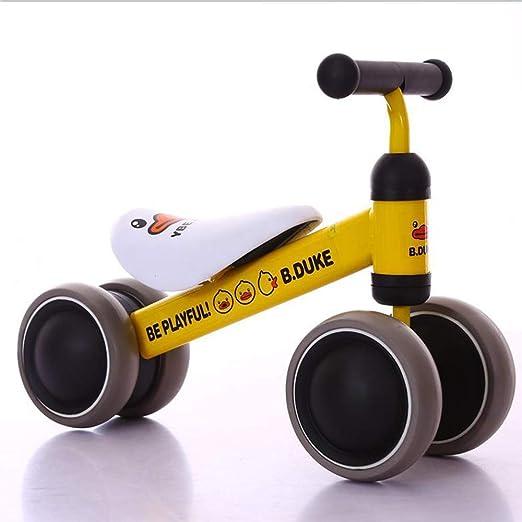 LJJY Coche de Equilibrio para niños para 1-2 años de Edad Andador ...