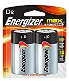 3 Pack of 2 Energizer Max D Batteries Bundled by Maven Gifts