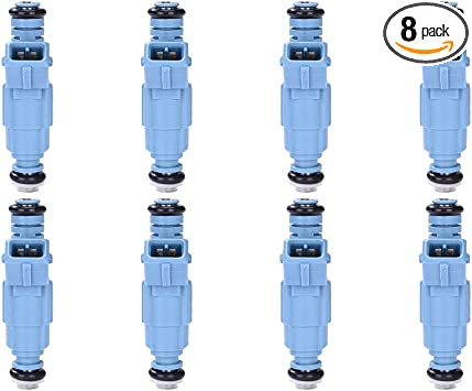 Catinbow 0280155715 Engine Fuel Injector Set for Ford Mustang Crown Victoria Taurus Chevy Mercury Grand Marquis Sable 3.0L 4.6L 5.0L