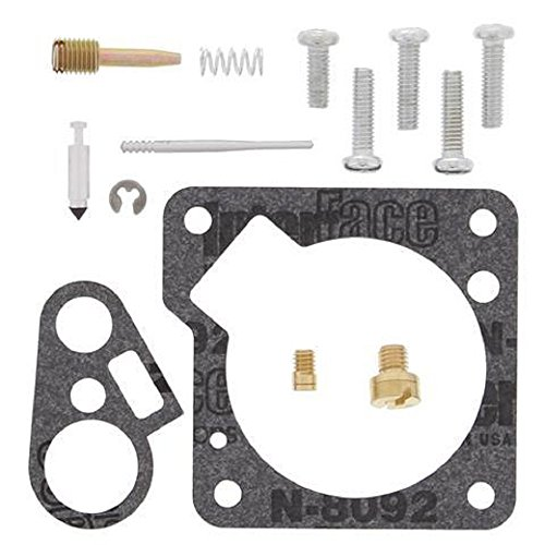 Orange Cycle Parts Carburetor Rebuild Kit for Yamaha PW50 MX Dirt Bike 1981 - 2017 (Motorcycle Rebuild Kits Carburetor)