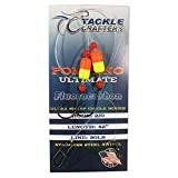 Tackle Crafters Pompano Ultimate Surf Fishing Rig Fluorocarbon Fishing Leaders Circle Hook - 12 Pack