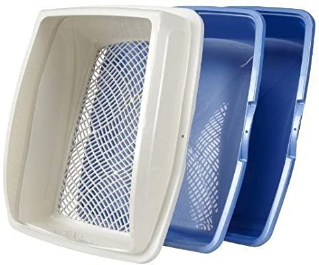 Cat Kitty Pet Litter Box Plastic Large Pan Easy Clean Frame Best Seller Open Top Made in the USA , eBook by Easy2Find