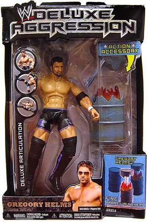 WWE Jakks Pacific Wrestling DELUXE Aggression Series 8 Action Figure Gregory Helms