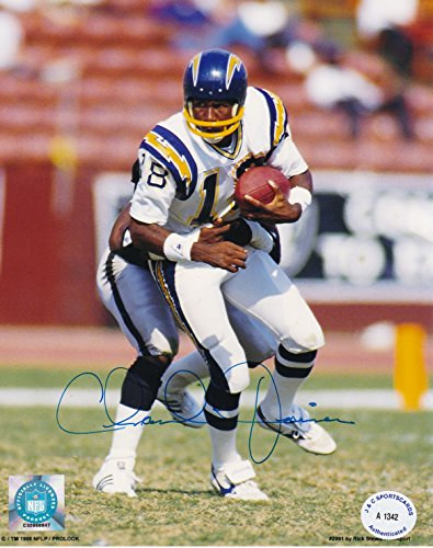 Chargers Charlie Joiner Autographed 8x10 Photo w/COA ()