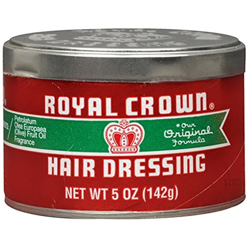 Royal Crown Hair Dressing 5 Ounce Jar (145ml)