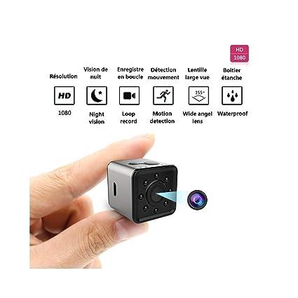Cámara espía WiFi Little Bomb Micro cámara 1080 P Mini cámara de vigilancia por Infrarrojos de