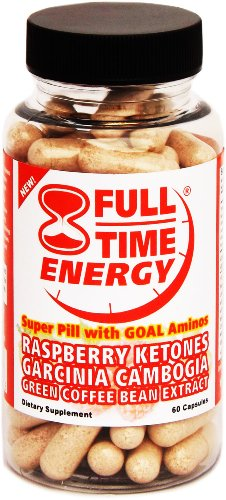 Full-Time Energy AMINO Super Pill with Raspberry Ketones Pur