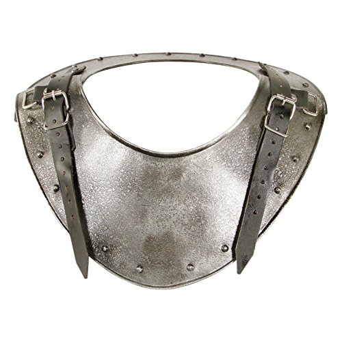 Armor Venue: Medieval Dark Warrior Gorget Neck Body