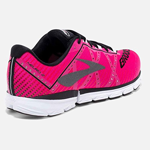 Women's Shoes Black white black Running 2 Brooks Neuro pink BSwnZxTOx