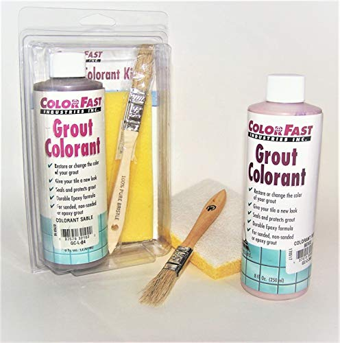 Colorfast Grout Colorant Kit- Tobacco Brown #052 (Custom BP color) by Color Fast