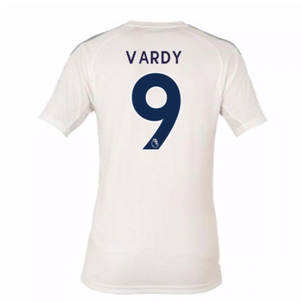 2017-18 Leicester City Third Football Soccer T-Shirt Trikot (Jamie Vardy 9)