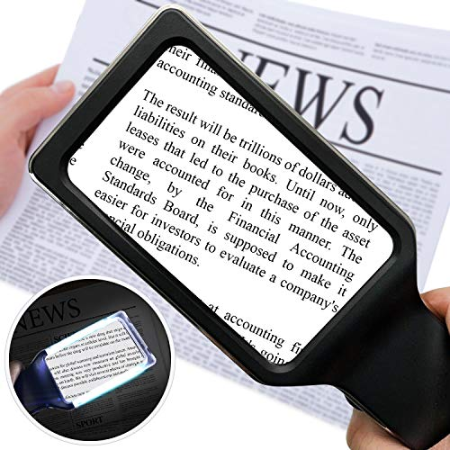 Handheld Magnifier With Led Light in US - 1