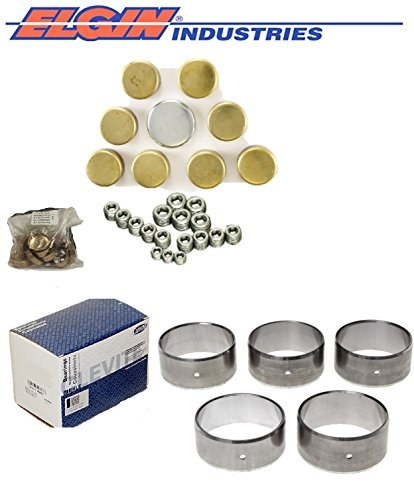 1991-2000 Brand new sets of steel or Brass freeze plugs and Clevite77 cam bearings to prep your BIG Block Chevy bb 454 427 366