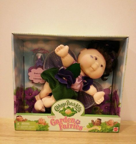 Cabbage Patch Kids Viloet Garden Fairies - Sheila Violet - Asian doll, brown hair, brown eyes! (Asian Cabbage Patch Doll)