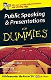 Public Speaking and Presentations For Dummies